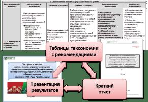 Экспресс-анализ, таксономия предприятия