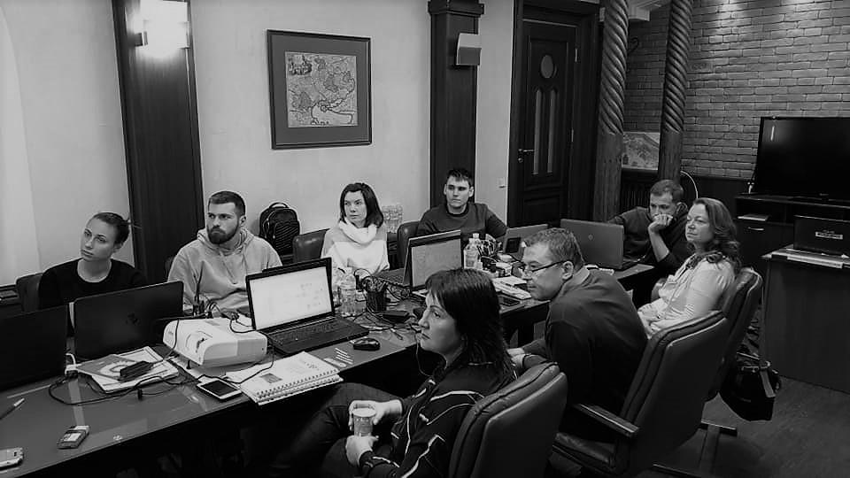 фото с бизнес-тренингов компании Стратегический партнер Днепр